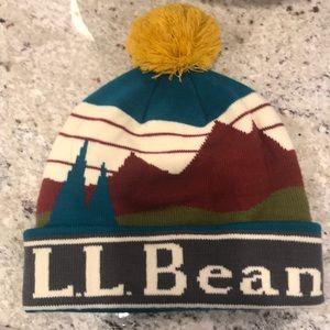 LL Bean winter hat